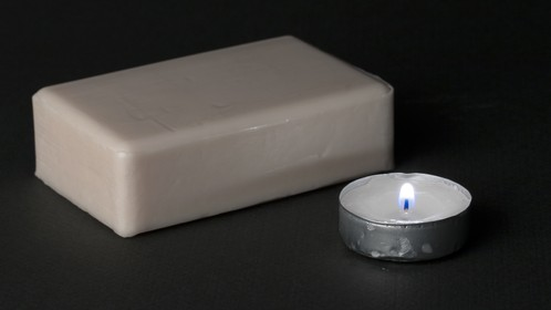 Soap candle